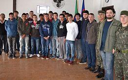 Junta do Serviço Militar de Timbé do Sul aguarda jovens para inscrição.