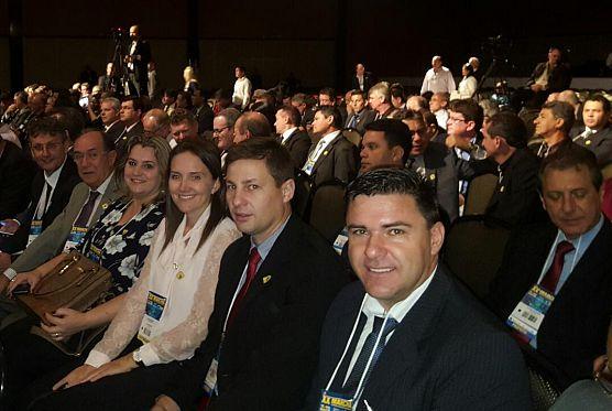 PRESIDENTE DA CÂMARA NA XX MARCHA DE MUNICÍPIOS EM BRASILIA